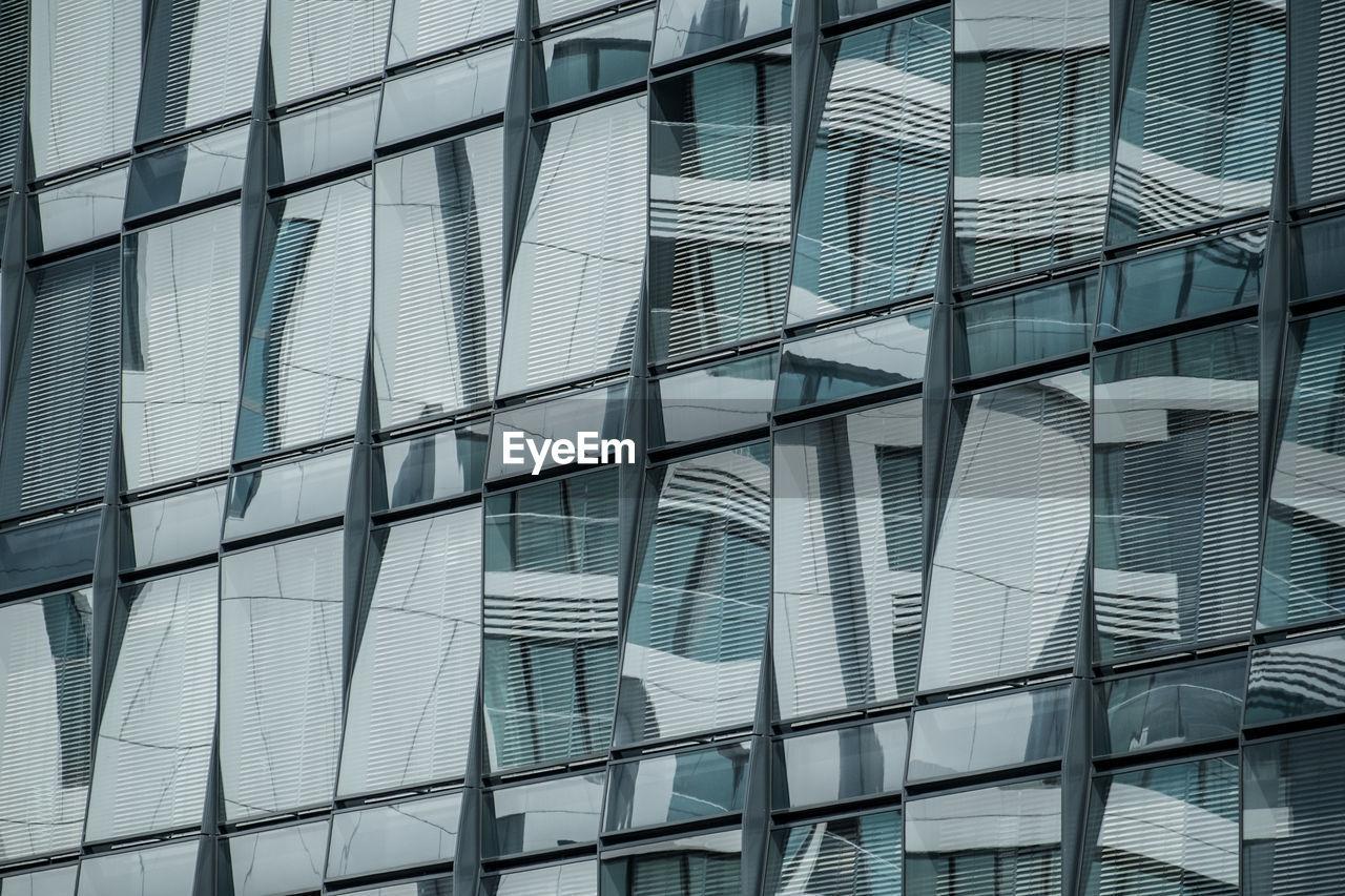Full Frame Image Of Glass Modern Building