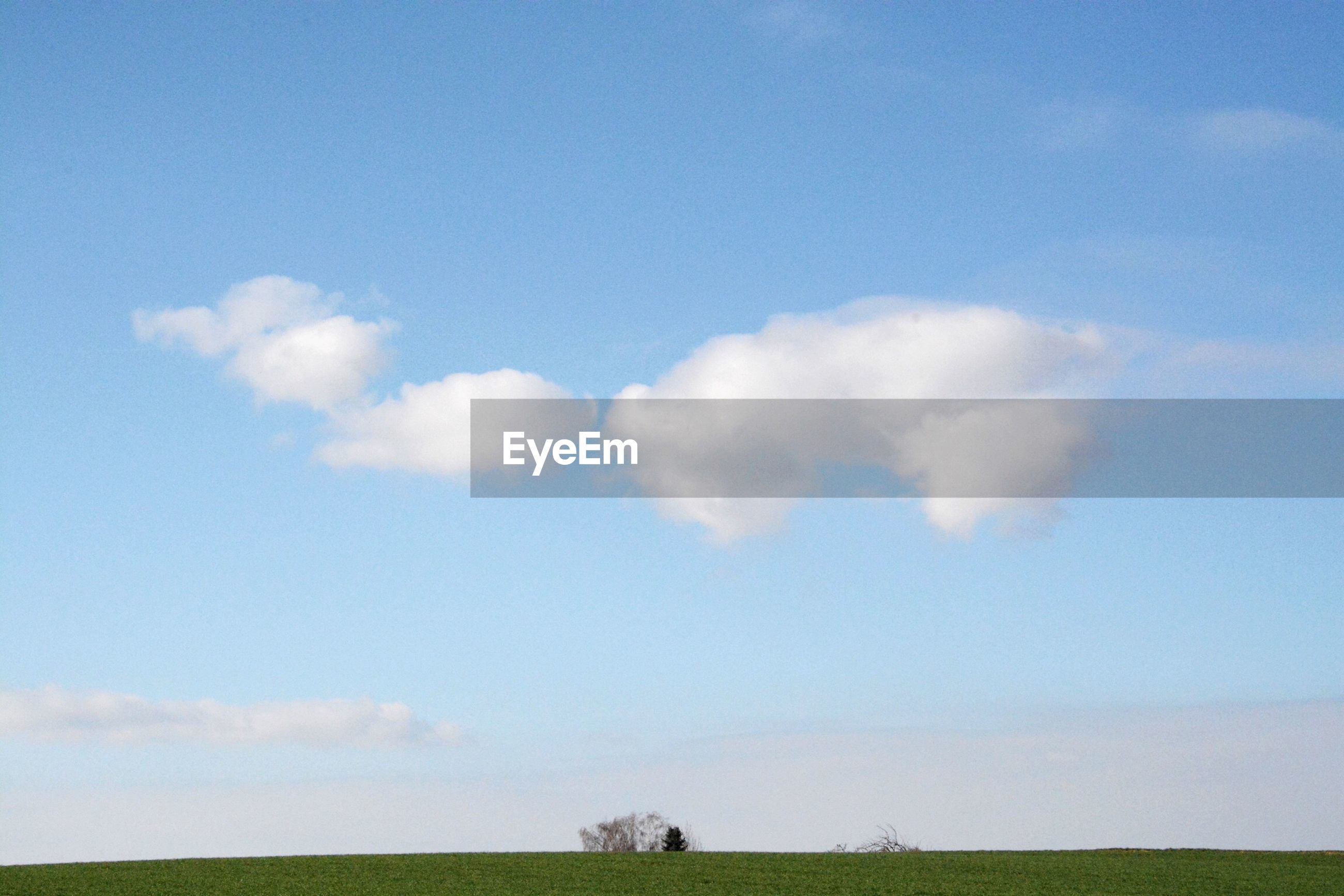 Countryside landscape against the sky
