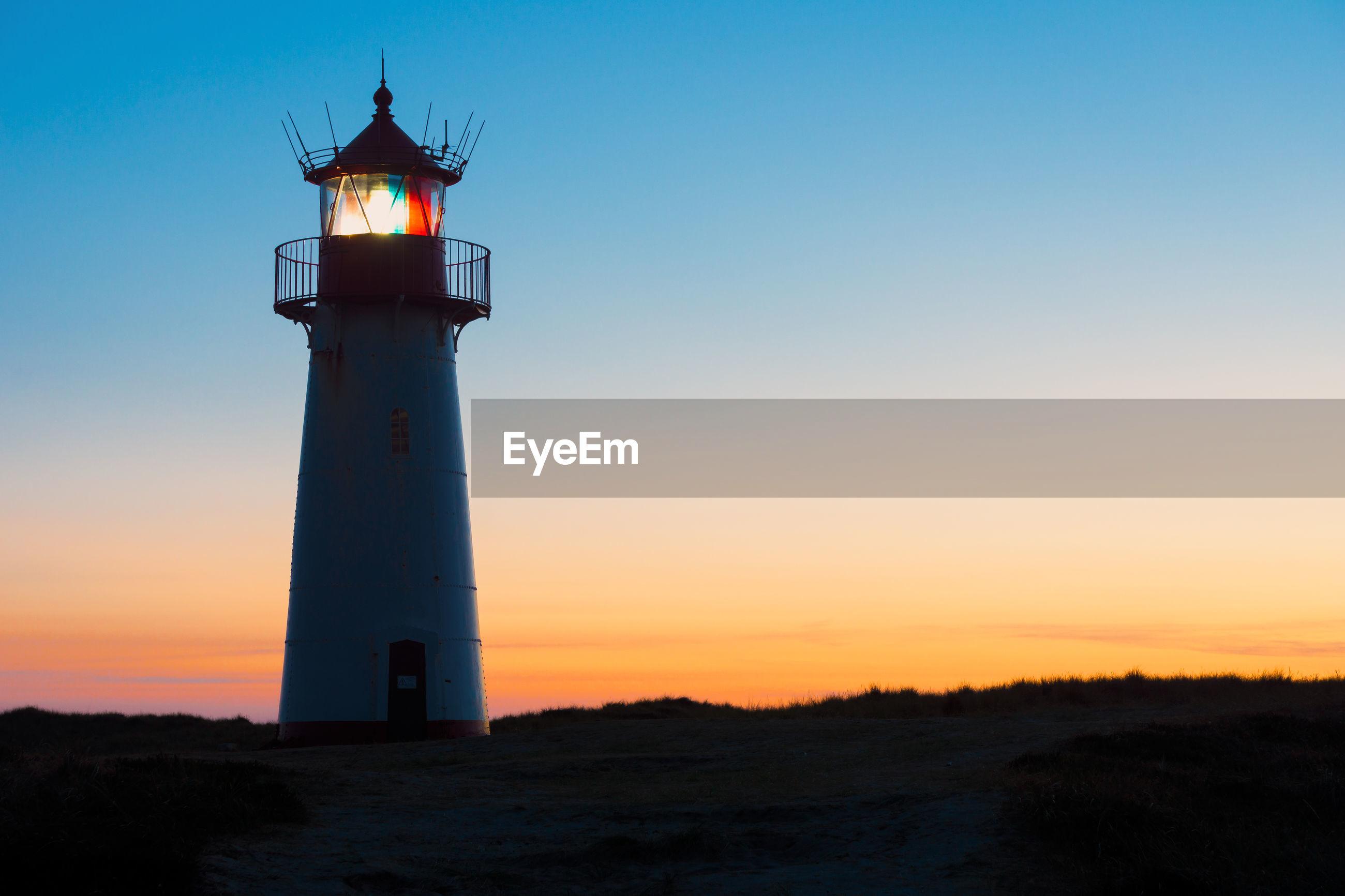 Lighthouse list-west on the island sylt
