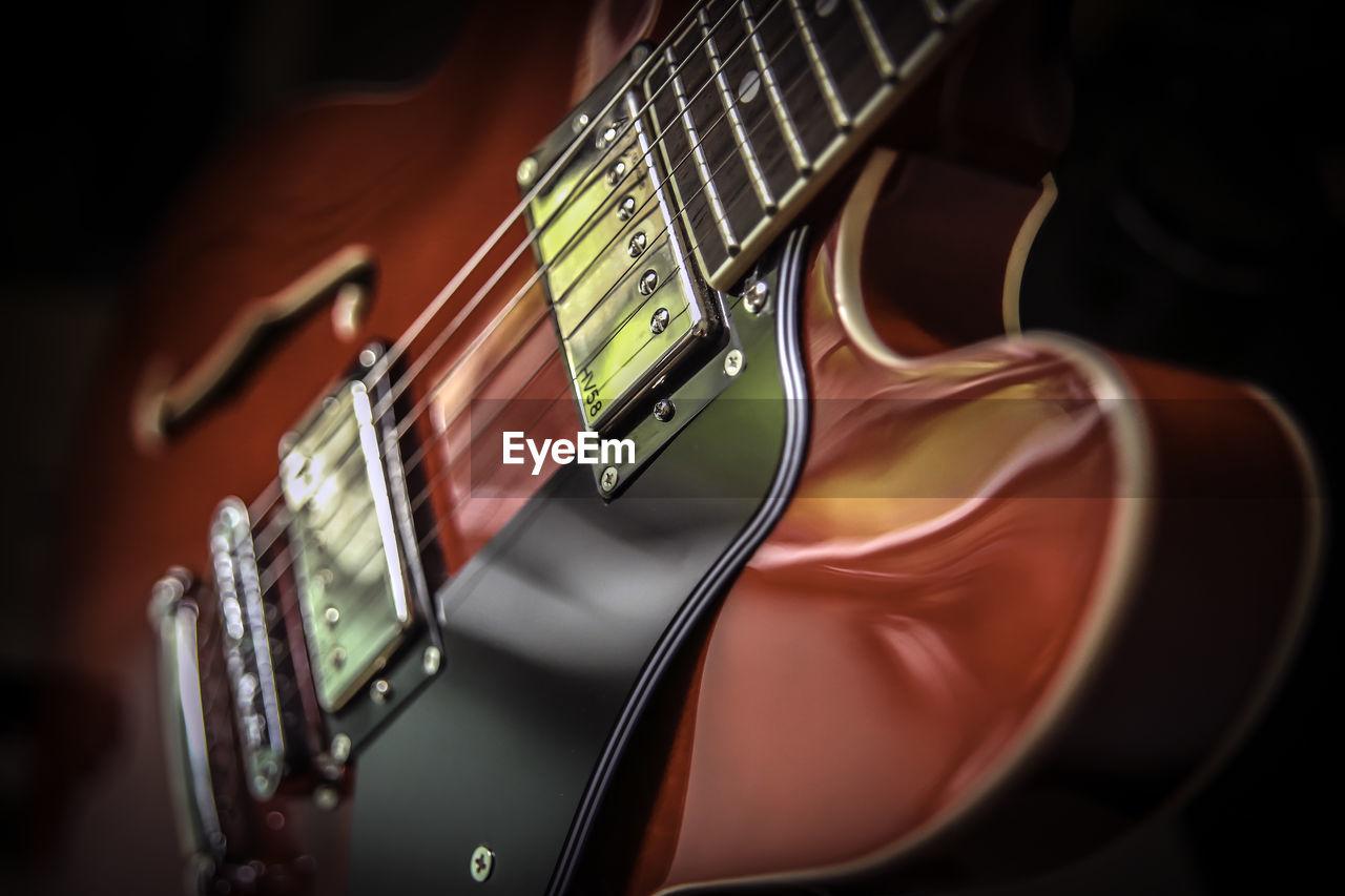 Close-Up Of Electric Guitar