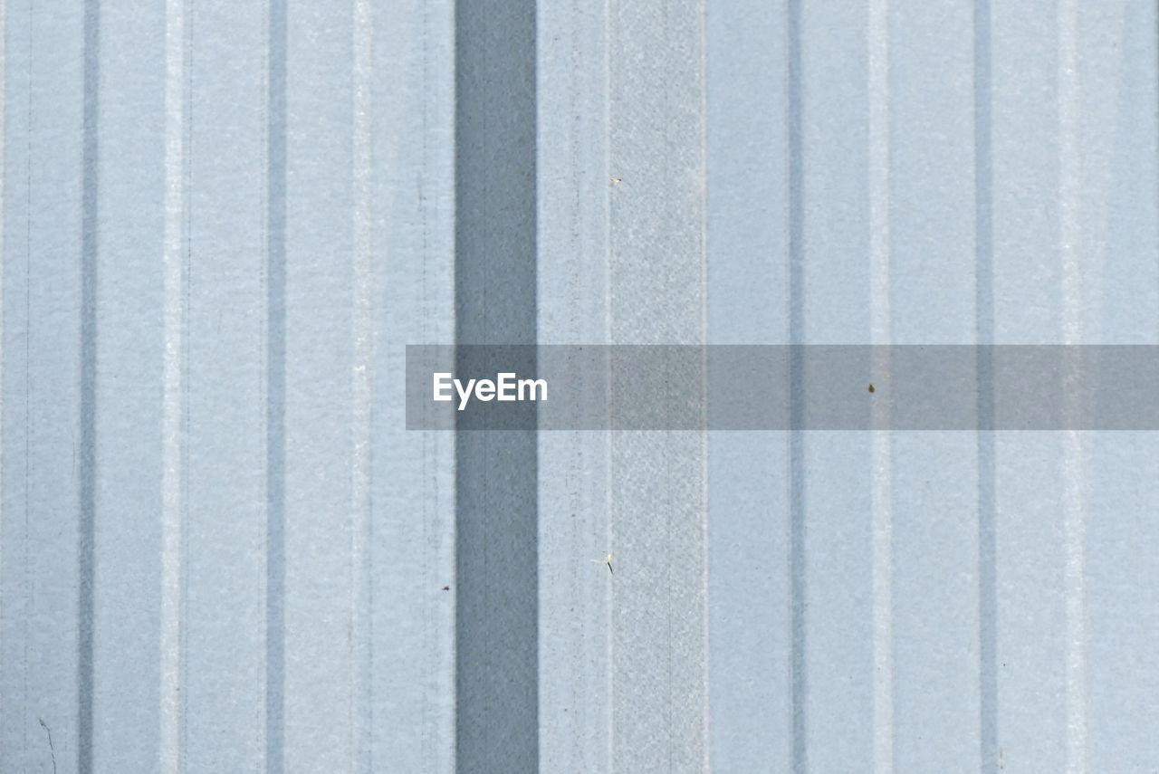 full frame, backgrounds, pattern, no people, iron, metal, close-up, textured, corrugated iron, day, wall - building feature, corrugated, outdoors, white color, sheet metal, protection, wood - material, security, gray, abstract, iron - metal, silver colored, parallel