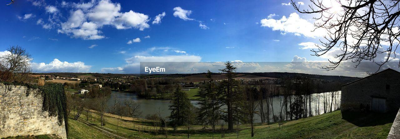 Panoramic View Of River