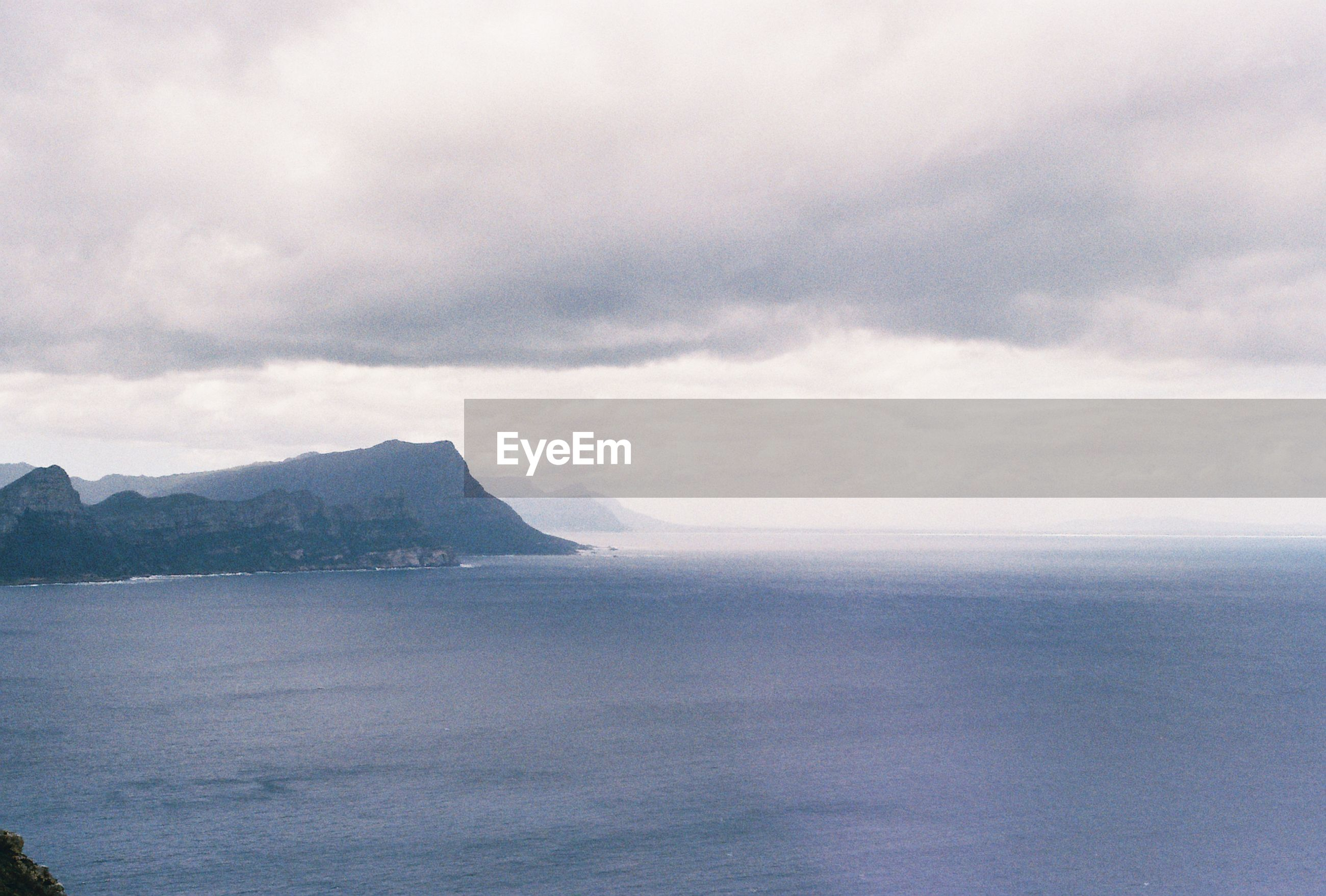 Scenic view of sea in south africa