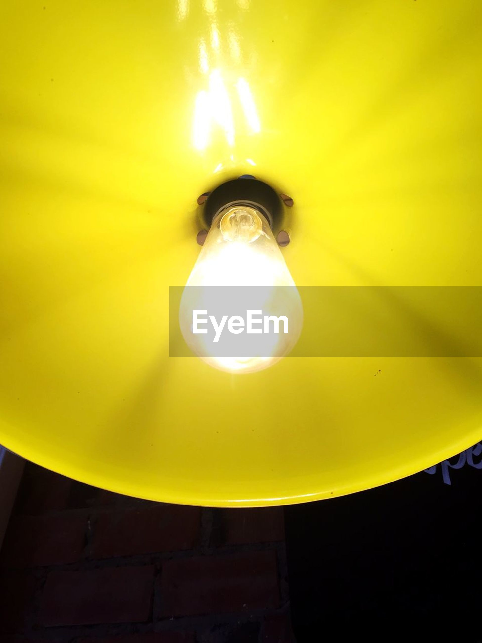 lighting equipment, yellow, illuminated, light bulb, electricity, electric lamp, low angle view, glowing, electric light, no people, close-up, indoors, night