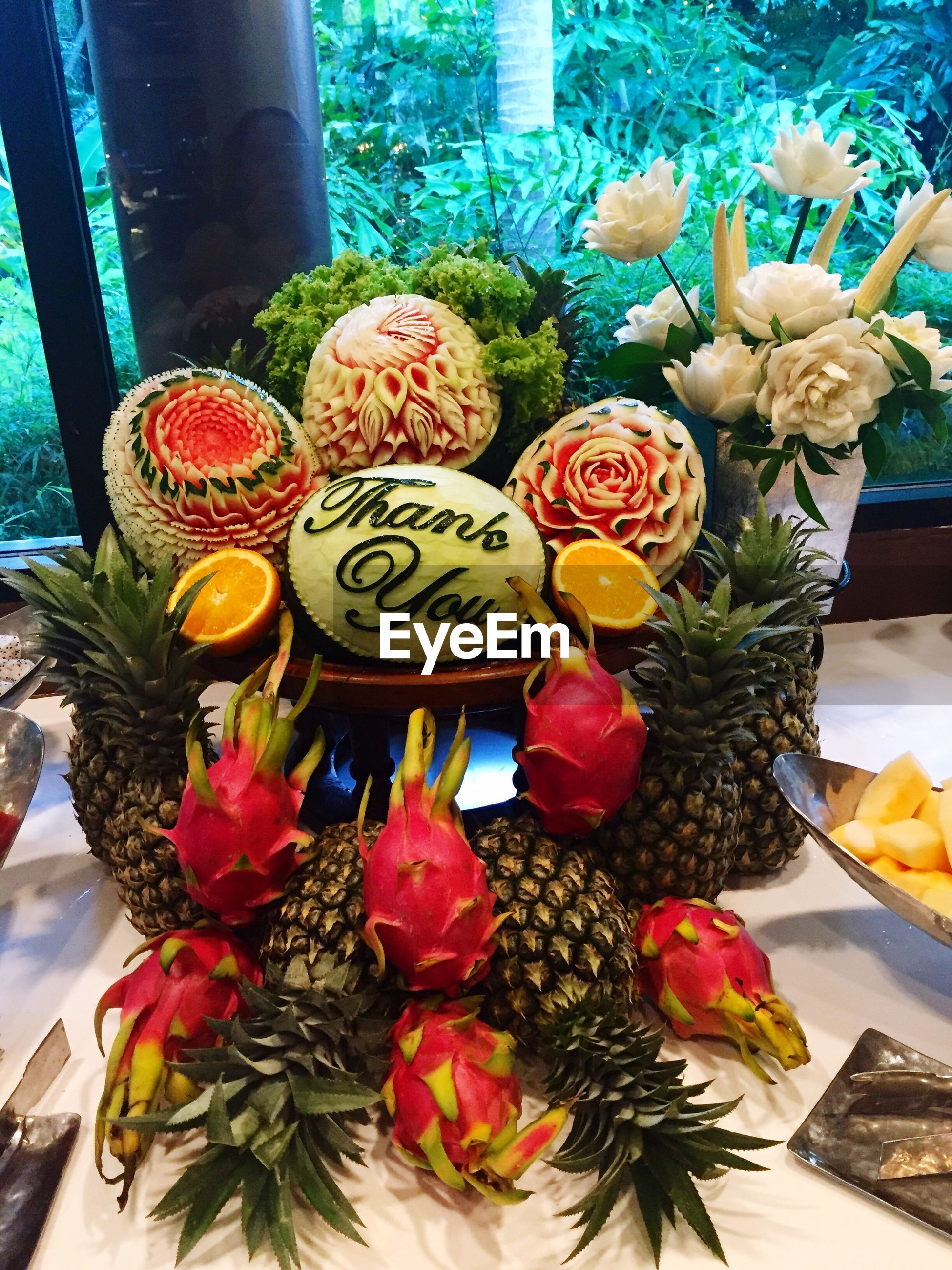 flower, freshness, variation, indoors, decoration, petal, fragility, plant, potted plant, multi colored, vase, growth, flower head, high angle view, flower pot, beauty in nature, choice, art and craft, nature, no people