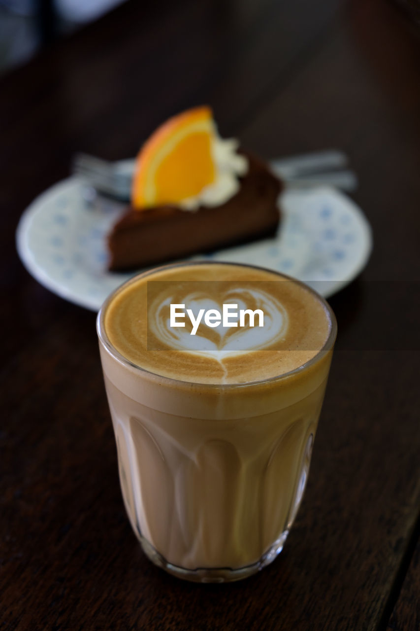 food and drink, table, drink, coffee, refreshment, coffee - drink, frothy drink, still life, food, indoors, coffee cup, froth art, freshness, hot drink, cup, focus on foreground, mug, close-up, no people, cappuccino, latte, glass, crockery, breakfast, temptation