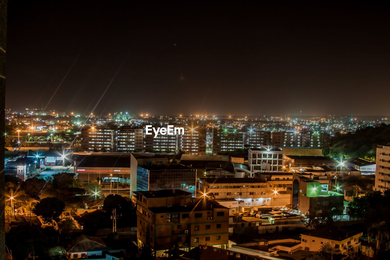 architecture, cityscape, illuminated, night, city, building exterior, built structure, no people, sky, outdoors