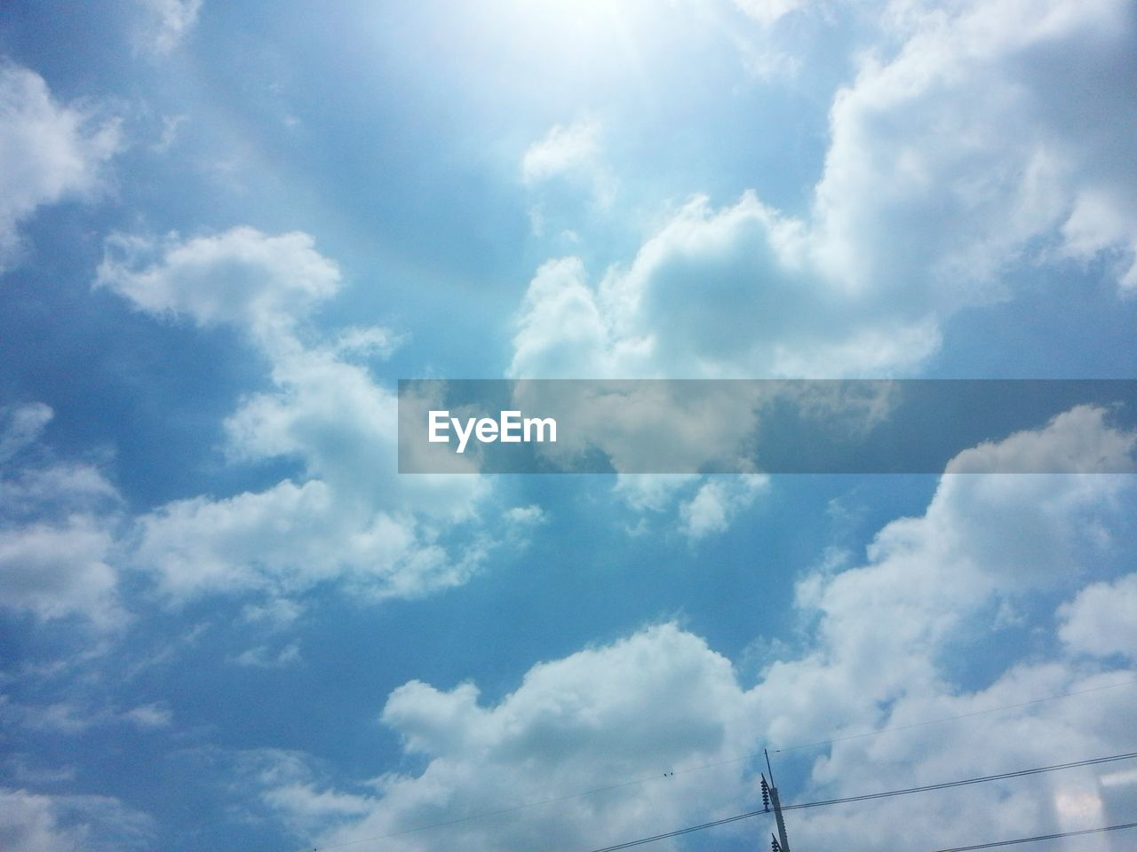 cloud - sky, low angle view, sky, day, nature, no people, beauty in nature, blue, scenics, outdoors