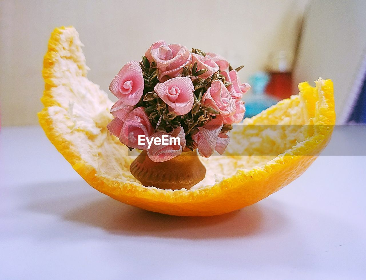 freshness, indoors, food and drink, food, close-up, still life, flower, pink color, flowering plant, no people, plant, ready-to-eat, beauty in nature, table, rose, rose - flower, focus on foreground, healthy eating, indulgence, yellow, temptation, flower head, garnish