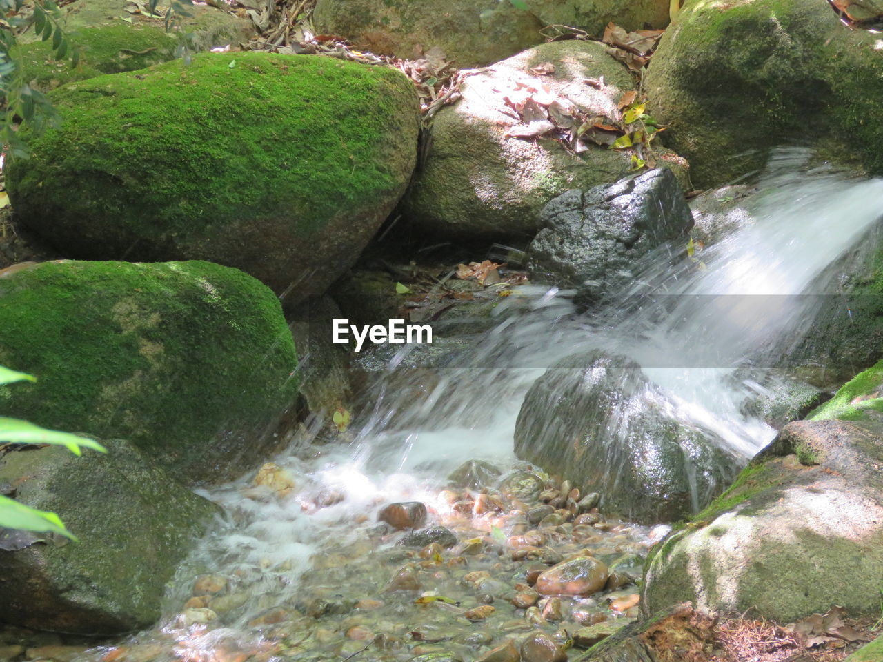 rock - object, water, no people, waterfall, nature, outdoors, day, motion, beauty in nature, scenics