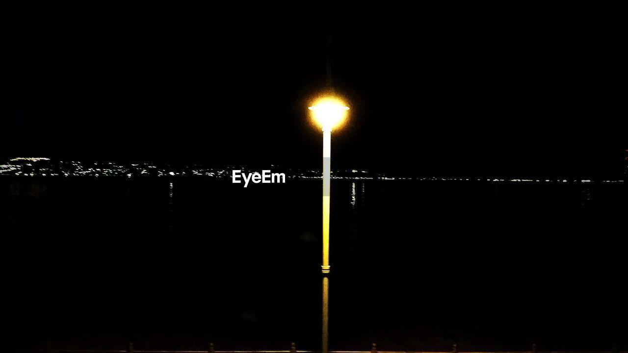 illuminated, night, no people, outdoors, water, sea, sky, nature, city