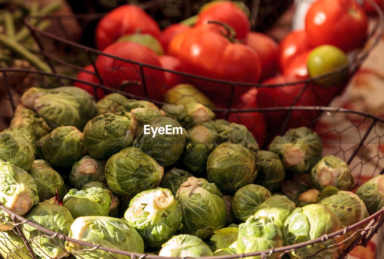 Close-Up Of Vegetables At Market