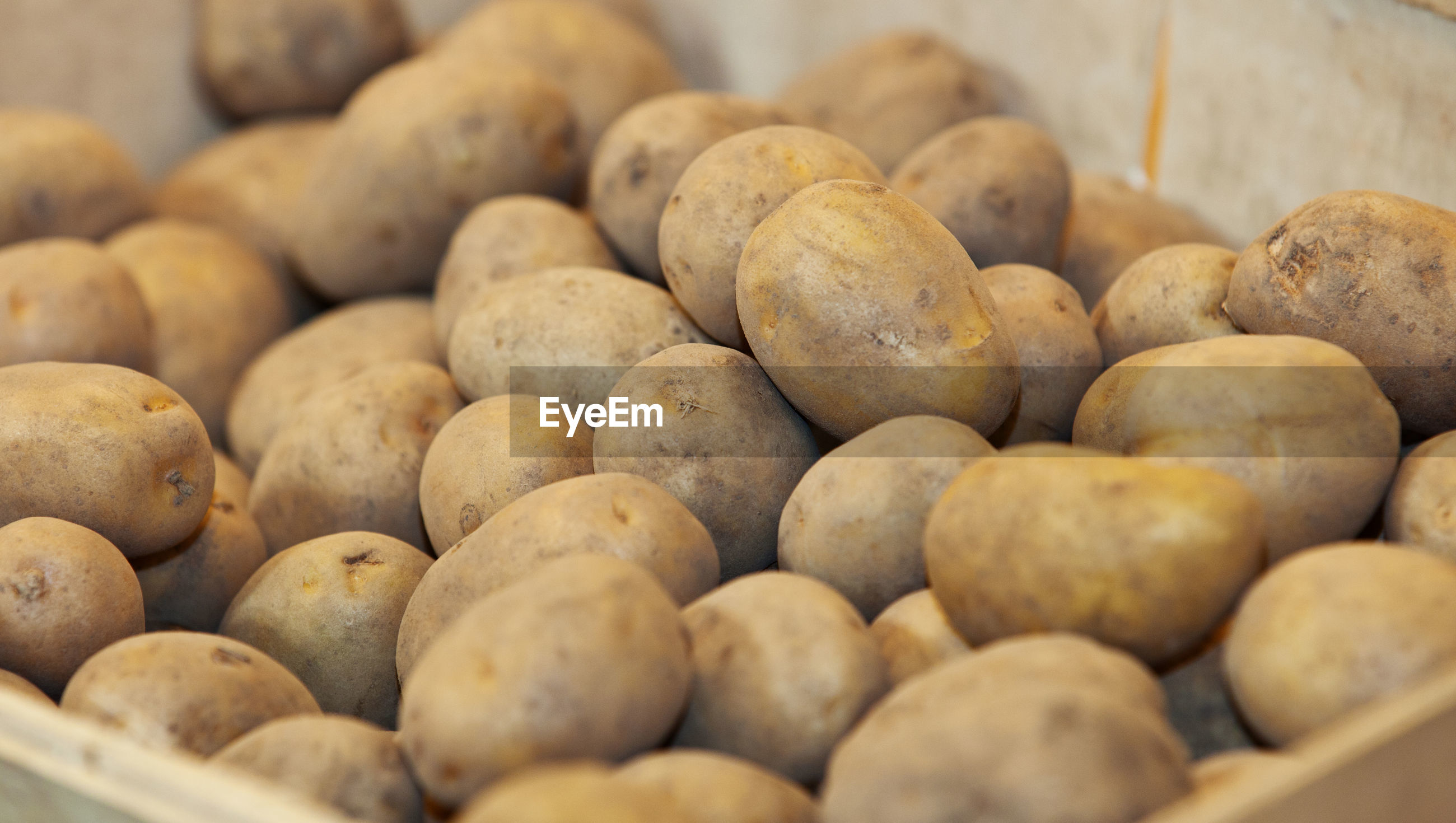 Close-up of potatoes