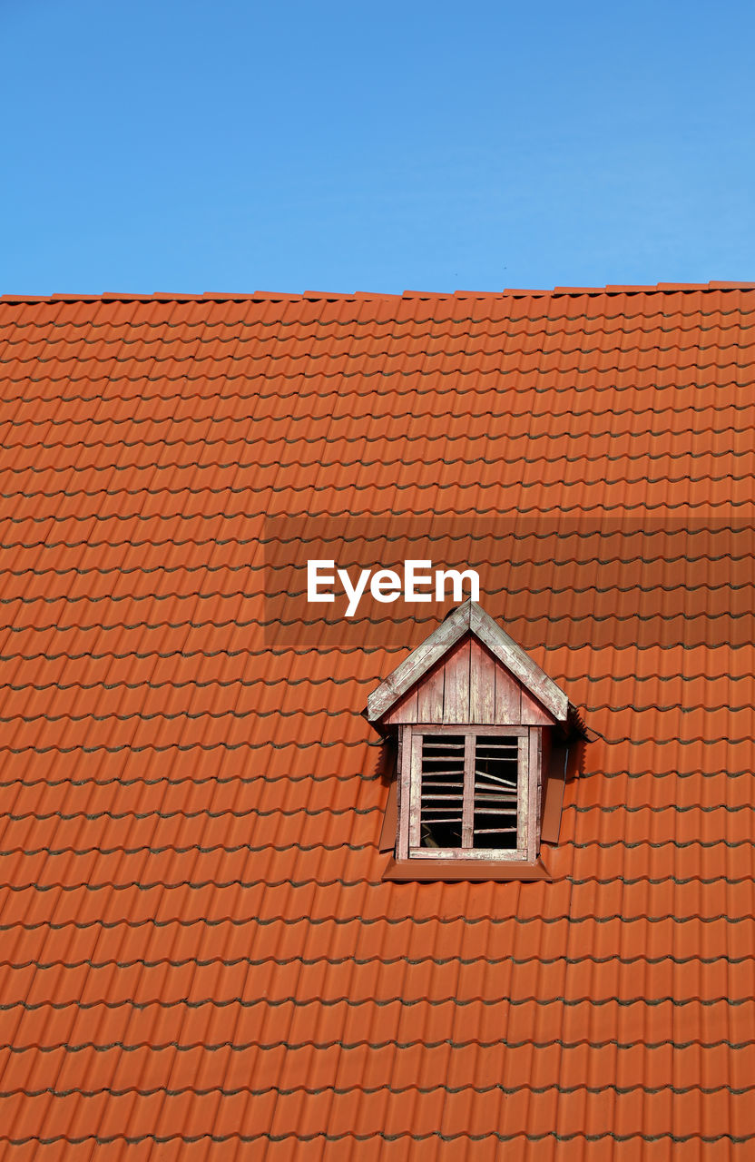 House Roof Against Clear Sky