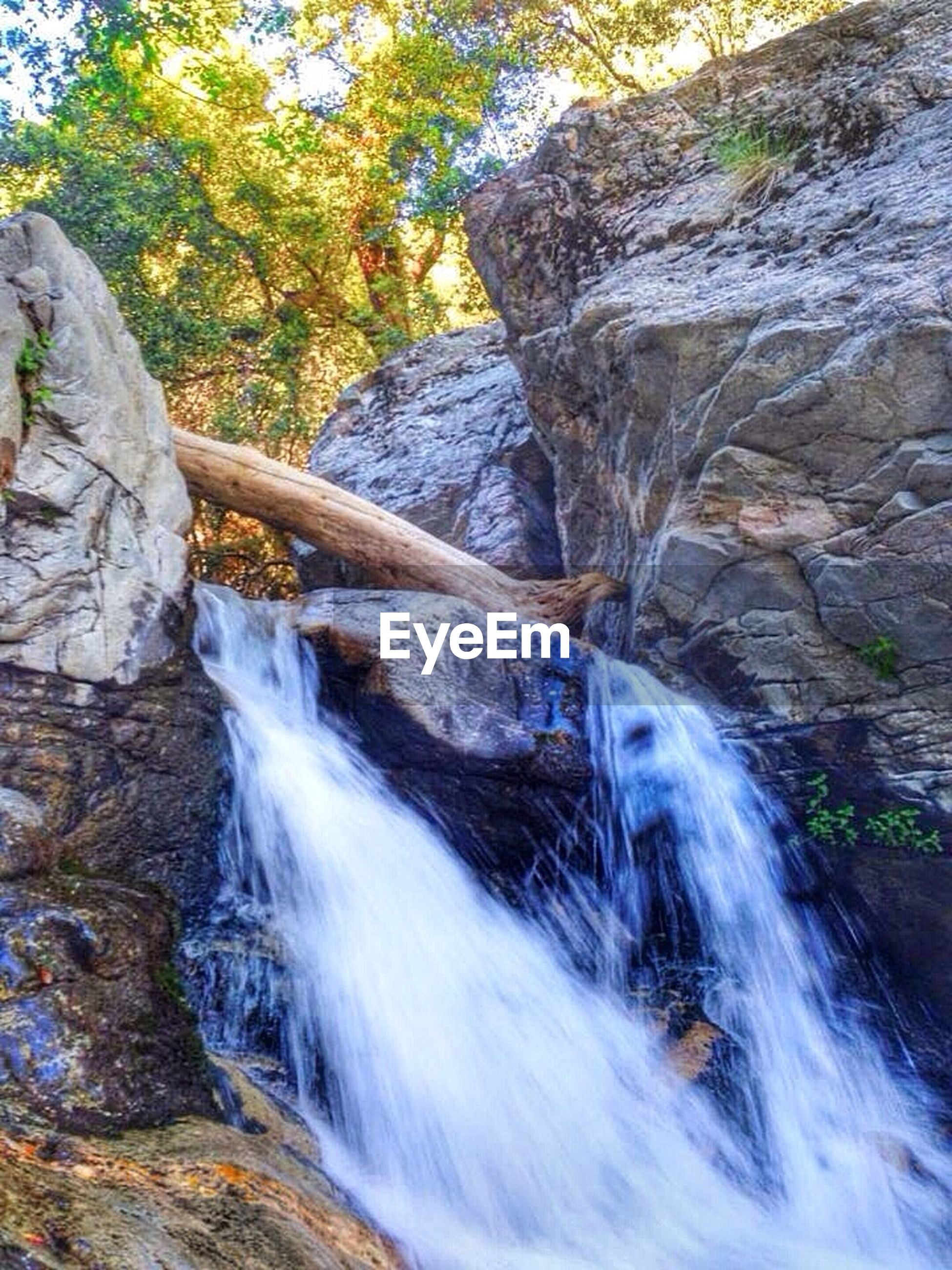 waterfall, flowing water, water, motion, long exposure, flowing, forest, beauty in nature, rock - object, scenics, nature, tree, blurred motion, stream, rock formation, river, splashing, power in nature, rock, idyllic