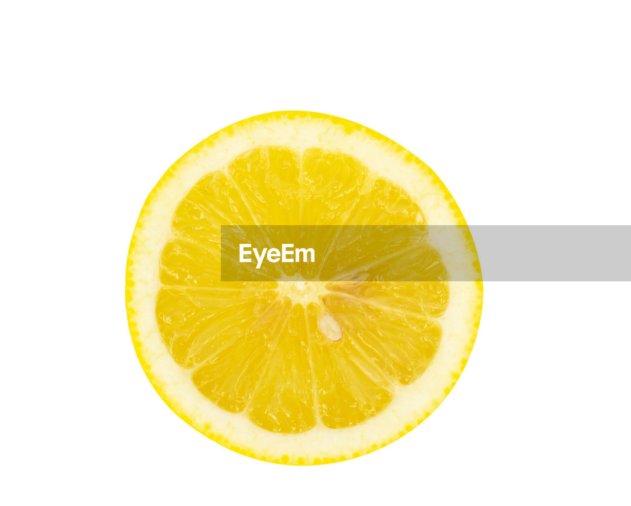 studio shot, white background, fruit, food, slice, food and drink, healthy eating, citrus fruit, freshness, indoors, cut out, close-up, wellbeing, yellow, lemon, cross section, no people, single object, still life, circle