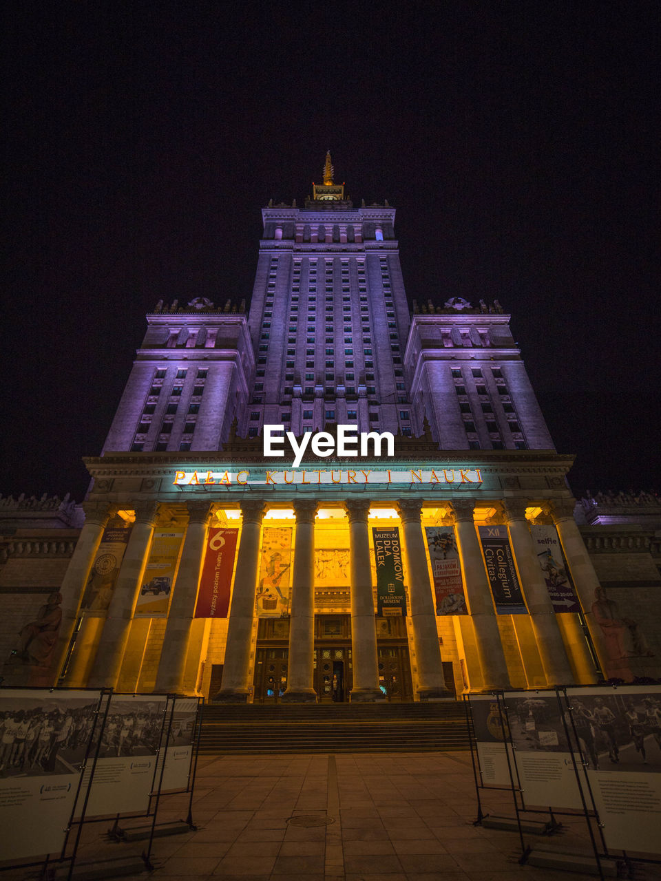 building exterior, illuminated, night, architecture, built structure, travel destinations, sky, tourism, city, low angle view, travel, building, no people, nature, tall - high, facade, government, the past, architectural column, office building exterior, skyscraper, luxury, neo-classical