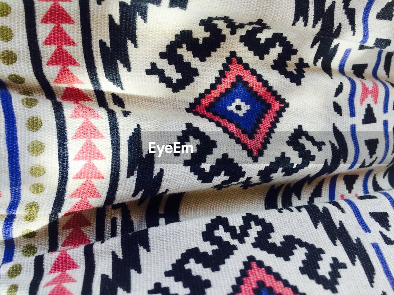 full frame, backgrounds, textile, close-up, pattern, multi colored, fabric, no people, indoors, textured, day