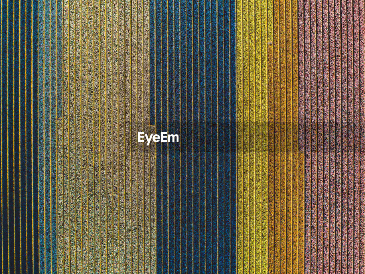 full frame, backgrounds, pattern, textile, multi colored, textured, no people, close-up, indoors, striped, side by side, variation, choice, blue, yellow, wall - building feature, design, day, textile industry, in a row