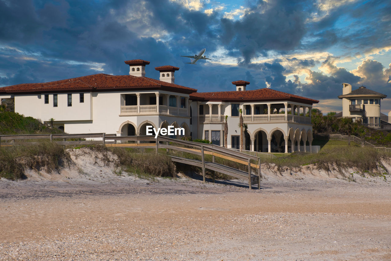 Sawgrass Beach Florida USA B Architecture Built Structure Building Exterior Cloud - Sky Building Nature No People Transportation House Residential District Land Mode Of Transportation Sunlight Sky Day Outdoors Street Road Landscape City Landscape_Collection Landscape_photography