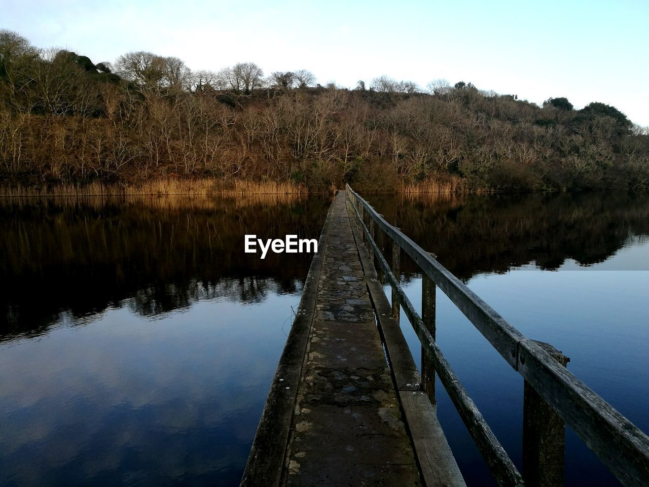 water, tree, nature, lake, no people, outdoors, tranquil scene, scenics, day, tranquility, sky, beauty in nature, bridge - man made structure, built structure