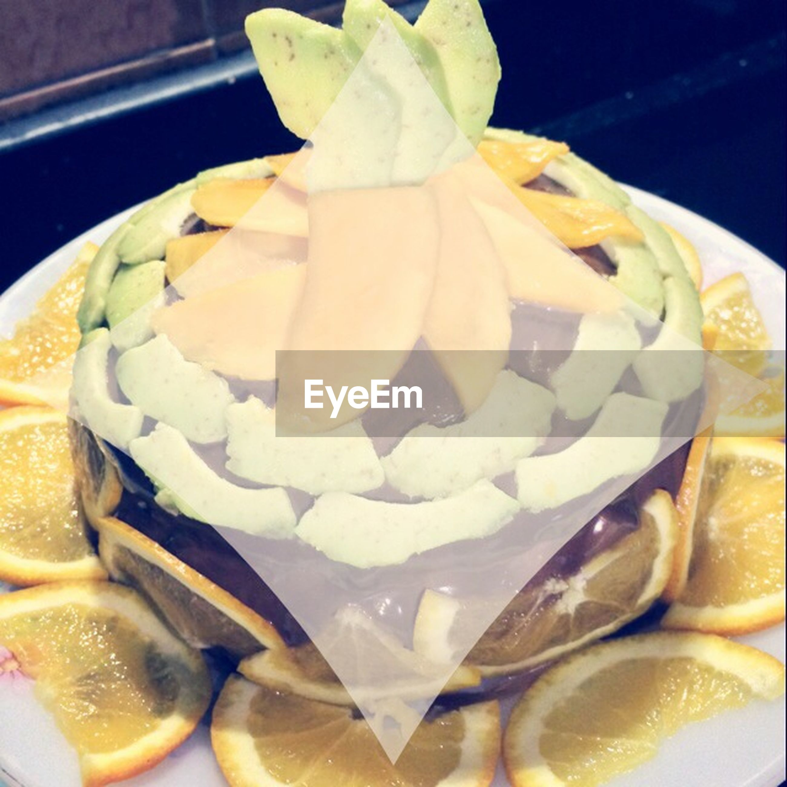 freshness, food and drink, food, indoors, sweet food, close-up, ready-to-eat, still life, dessert, indulgence, plate, unhealthy eating, temptation, no people, fruit, high angle view, slice, serving size, table