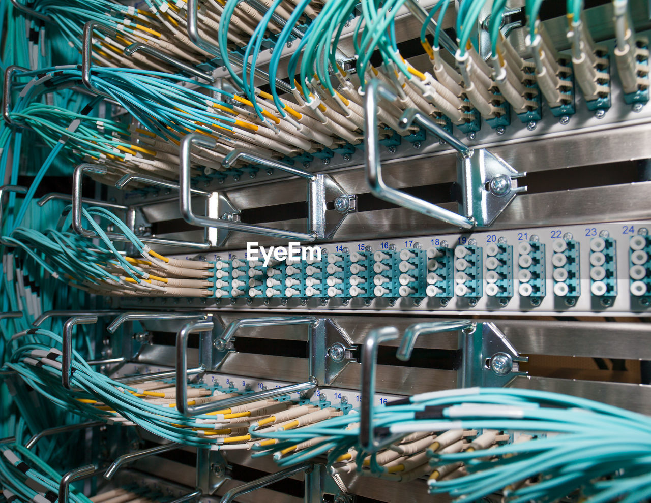Close-Up Of Computer Equipment