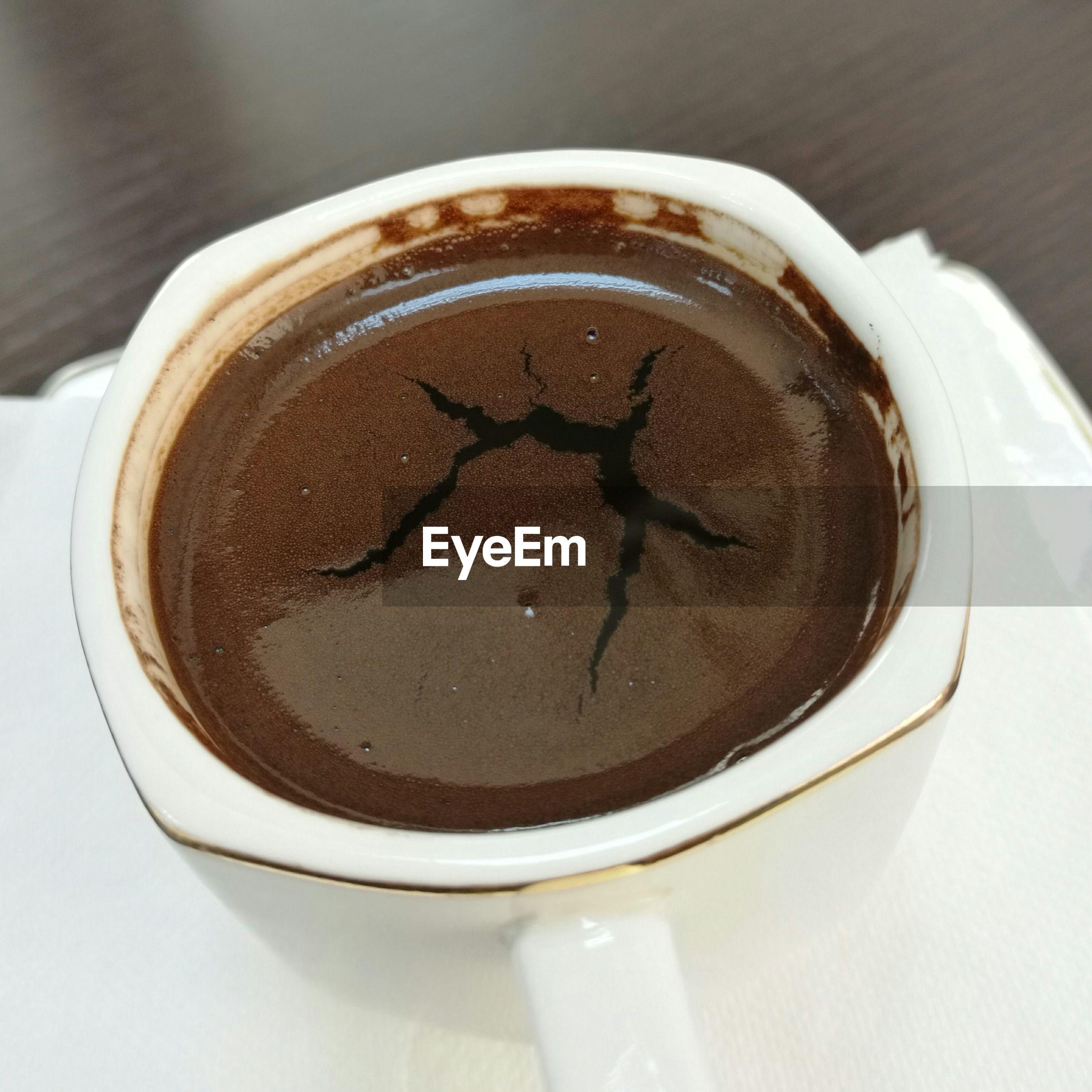 Close-up of coffee