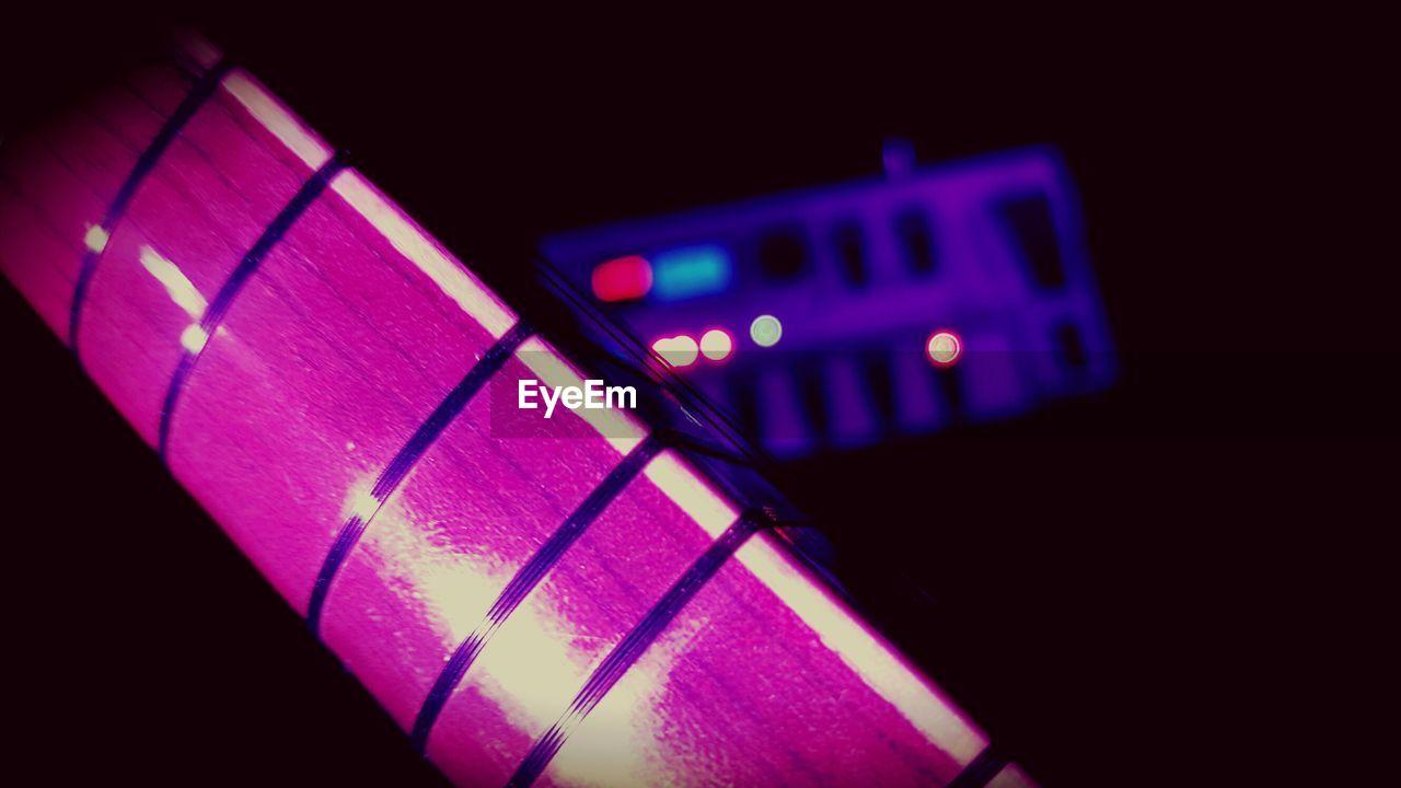 illuminated, technology, close-up, communication, no people, indoors, night