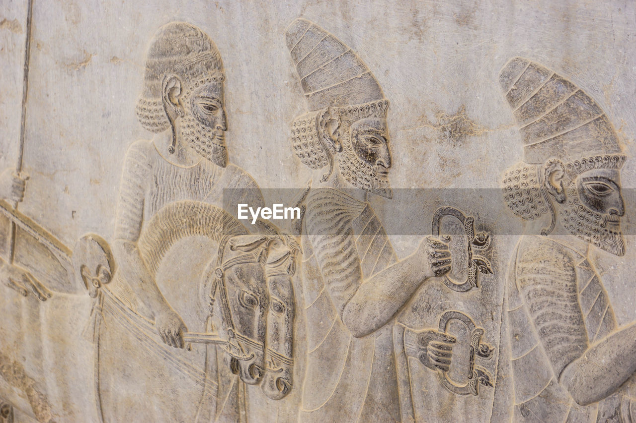 art and craft, human representation, representation, craft, the past, history, no people, creativity, religion, belief, architecture, male likeness, built structure, spirituality, close-up, carving - craft product, ancient, ancient civilization, day, place of worship, bas relief, carving