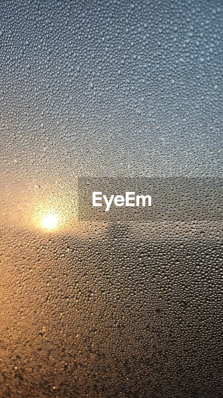 Backgrounds Textured  Full Frame Window Wet Drop Sunset Condensation No People Close-up Frosted Glass Water Nature Sky RainDrop Outdoors Day Freshness EyeEm Best Shots EyeEm Gallery EyeEmBestPics