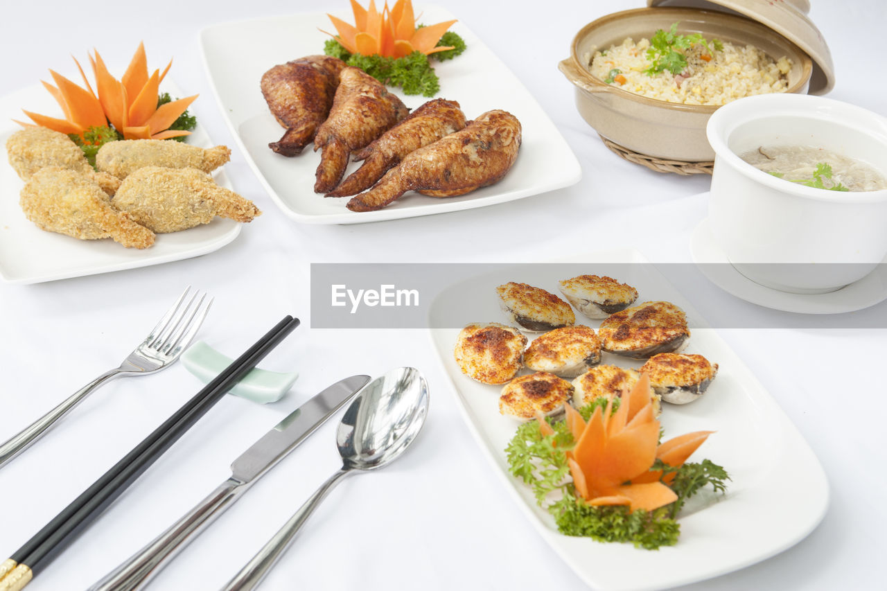 plate, food and drink, food, ready-to-eat, fork, freshness, table, high angle view, no people, indoors, indulgence, healthy eating, serving size, close-up, day