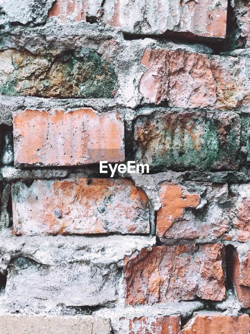 brick, brick wall, wall, wall - building feature, textured, backgrounds, full frame, built structure, no people, architecture, rough, weathered, pattern, damaged, close-up, old, outdoors, brown, deterioration, day, stone wall, concrete