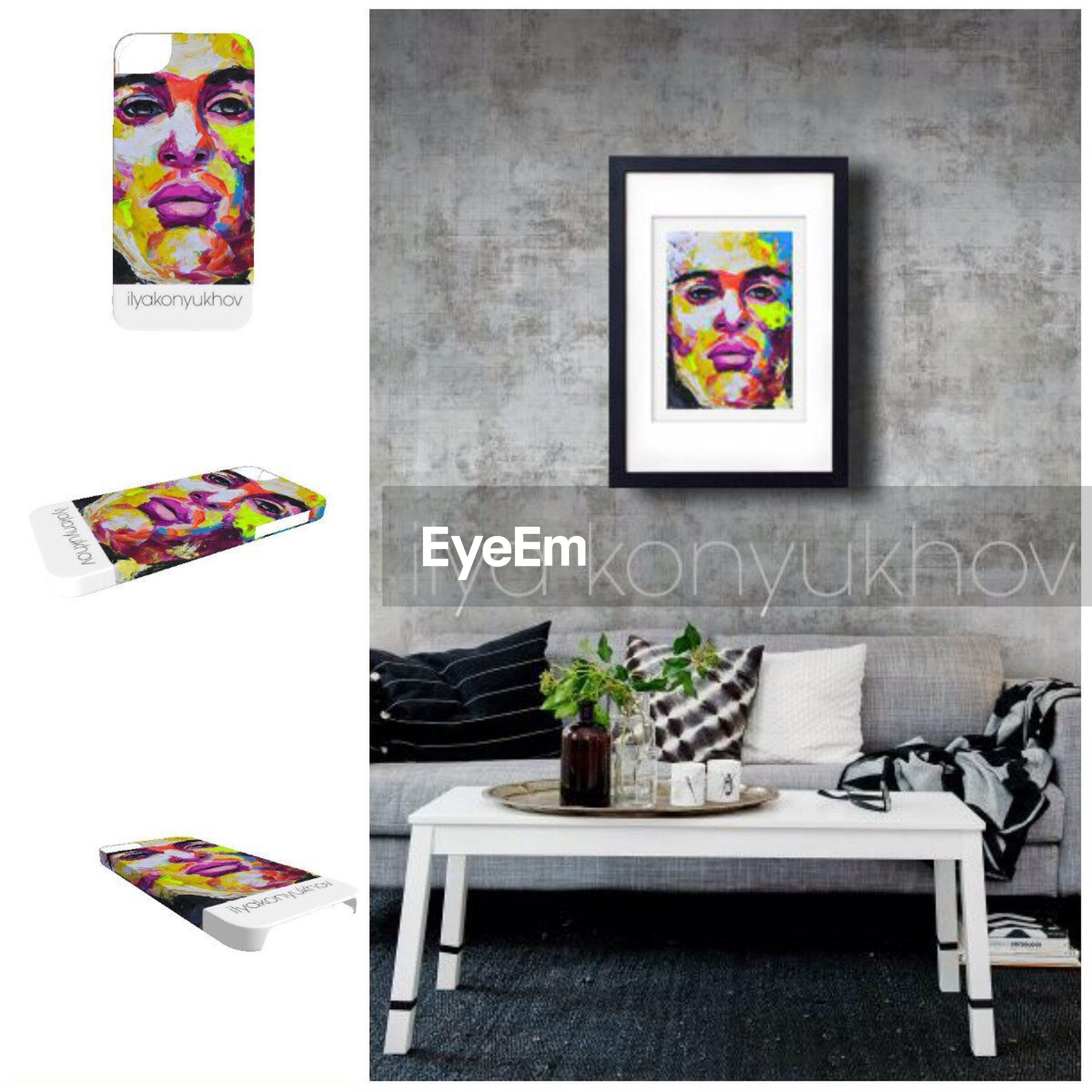 indoors, art and craft, art, creativity, human representation, variation, table, multi colored, home interior, still life, decoration, wall - building feature, arrangement, no people, large group of objects, shelf, picture frame, wall