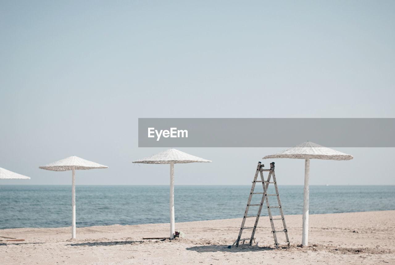 Sunshades At Beach