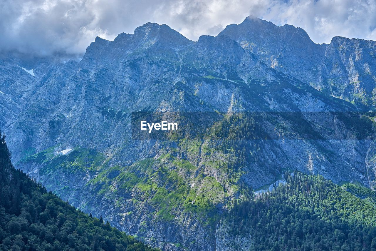 mountain, beauty in nature, scenics - nature, mountain range, cloud - sky, tranquil scene, nature, sky, no people, non-urban scene, environment, tranquility, landscape, day, remote, idyllic, outdoors, geology, travel destinations, mountain peak, formation