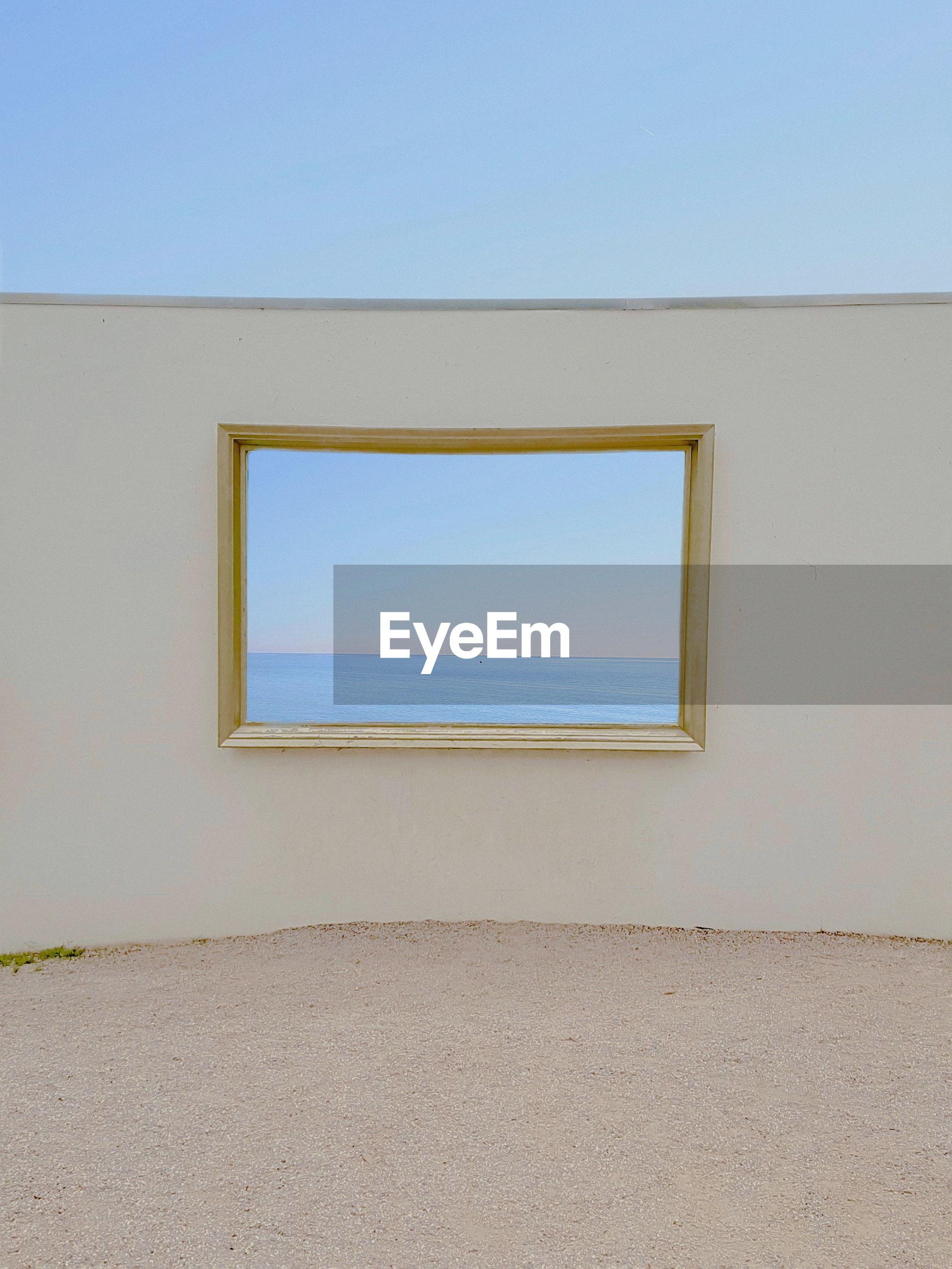 VIEW OF WINDOW OF EMPTY ROOM
