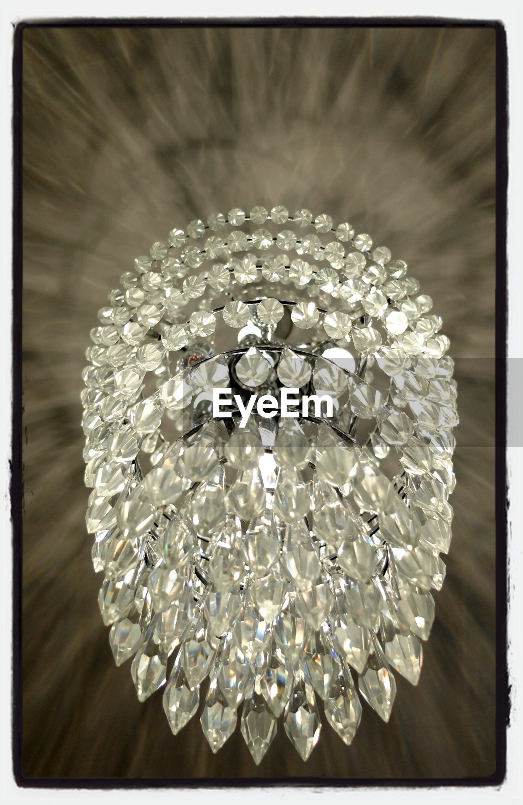 transfer print, auto post production filter, indoors, close-up, decoration, hanging, celebration, decor, low angle view, lighting equipment, christmas, circle, ceiling, no people, crystal, pattern, shape, still life, chandelier, christmas decoration