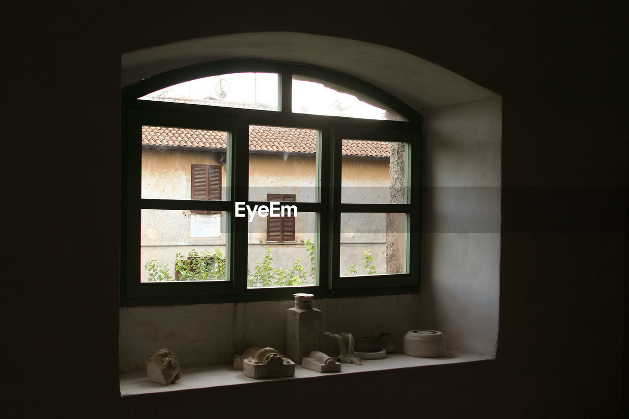 window, indoors, no people, day, architecture