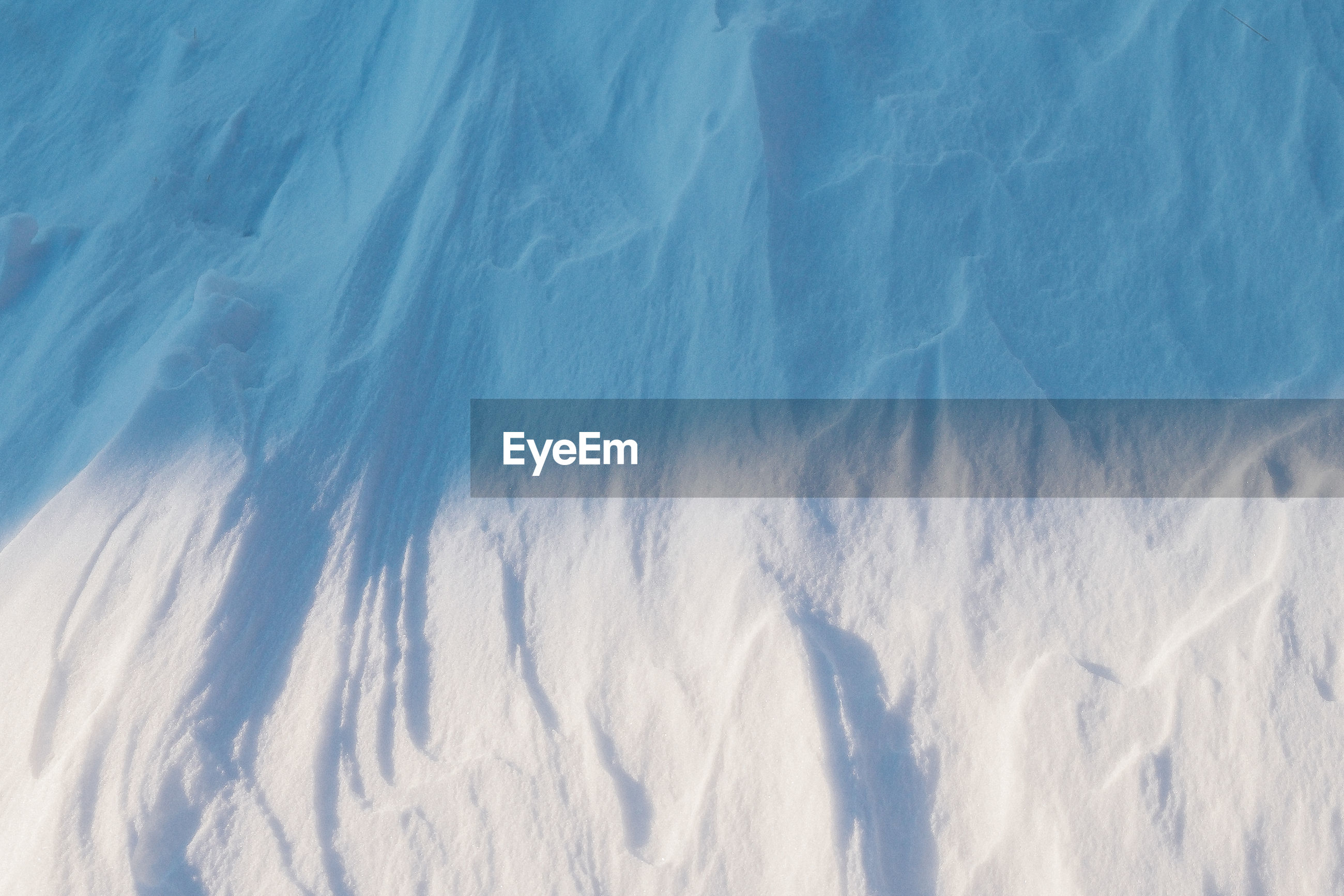 Full frame shot of snow