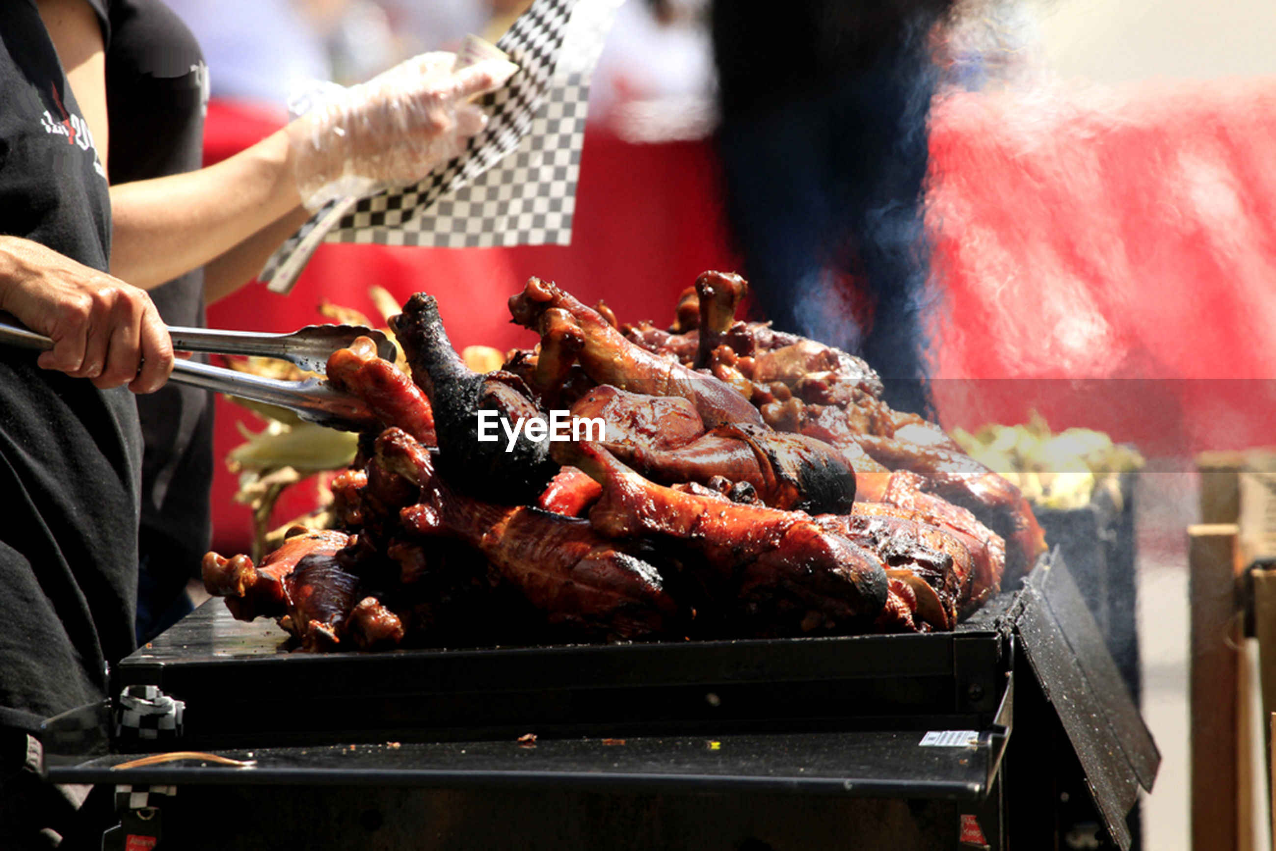 food and drink, food, indoors, freshness, men, person, preparation, meat, healthy eating, cooking, preparing food, barbecue grill, seafood, holding, lifestyles, occupation, barbecue