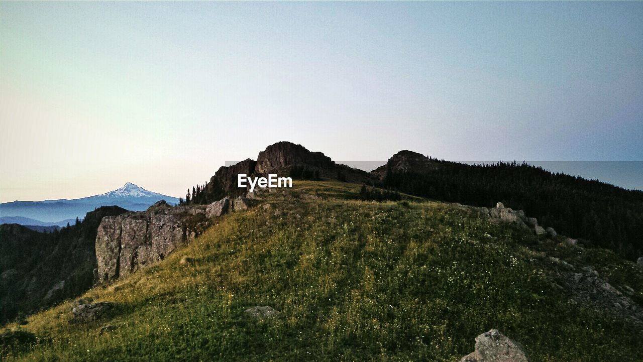 VIEW OF MOUNTAIN LANDSCAPE