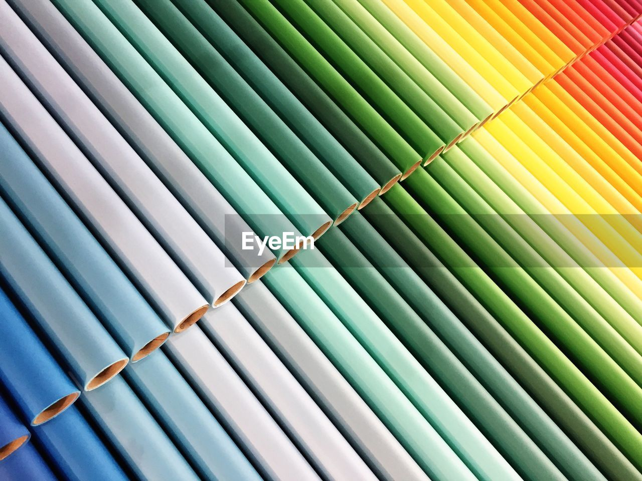 Full Frame Shot Of Color Wrapping Paper