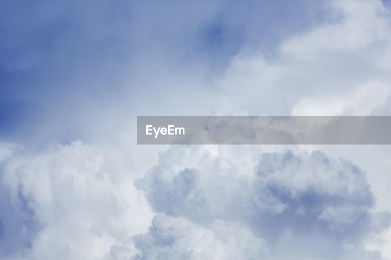 Cumulus Clouds In Sky