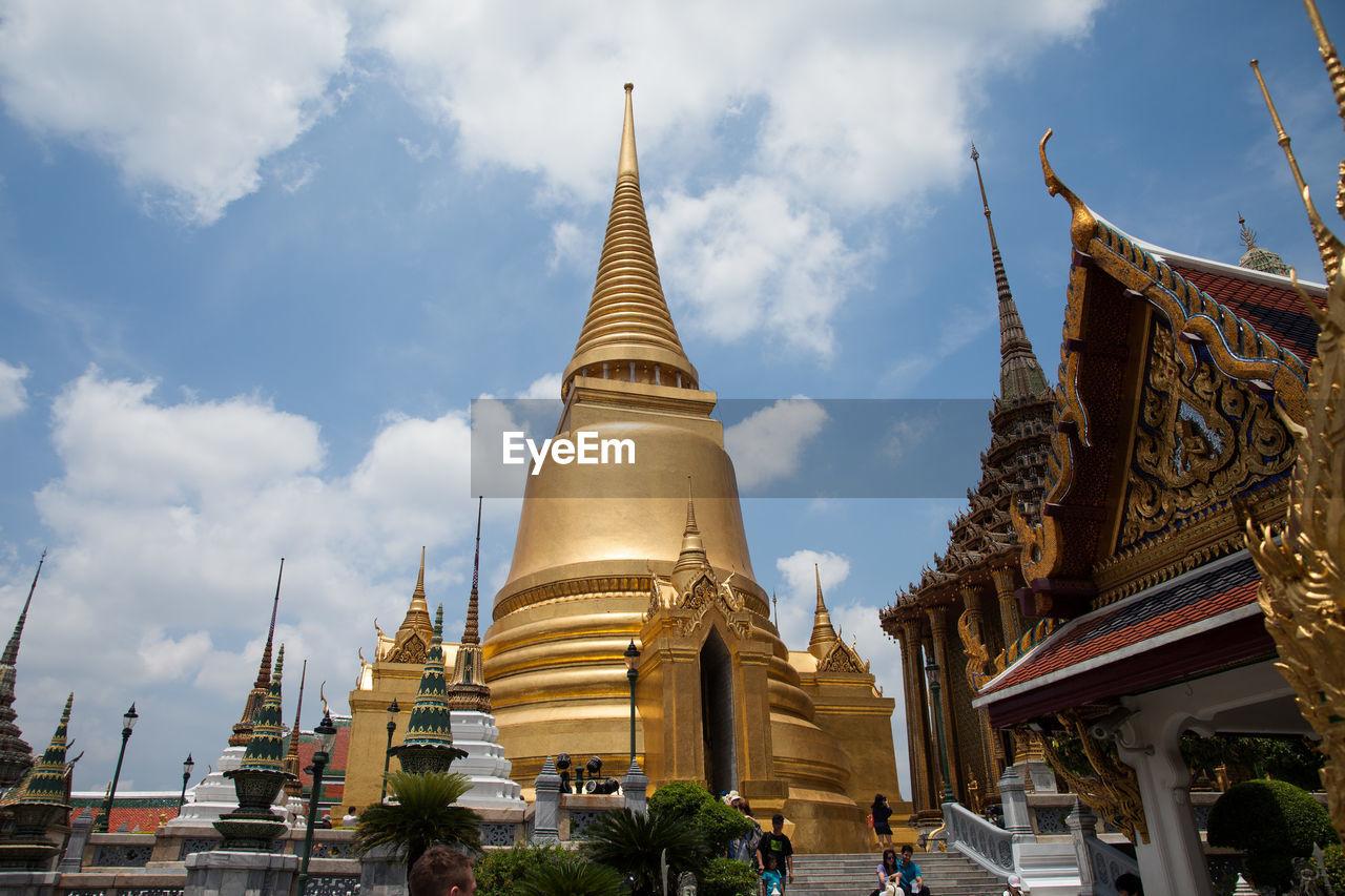 View Of Golden Building