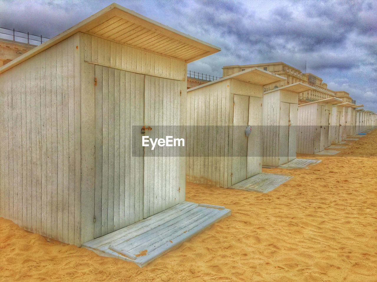 architecture, beach, built structure, sand, day, no people, outdoors, sky, building exterior, nature
