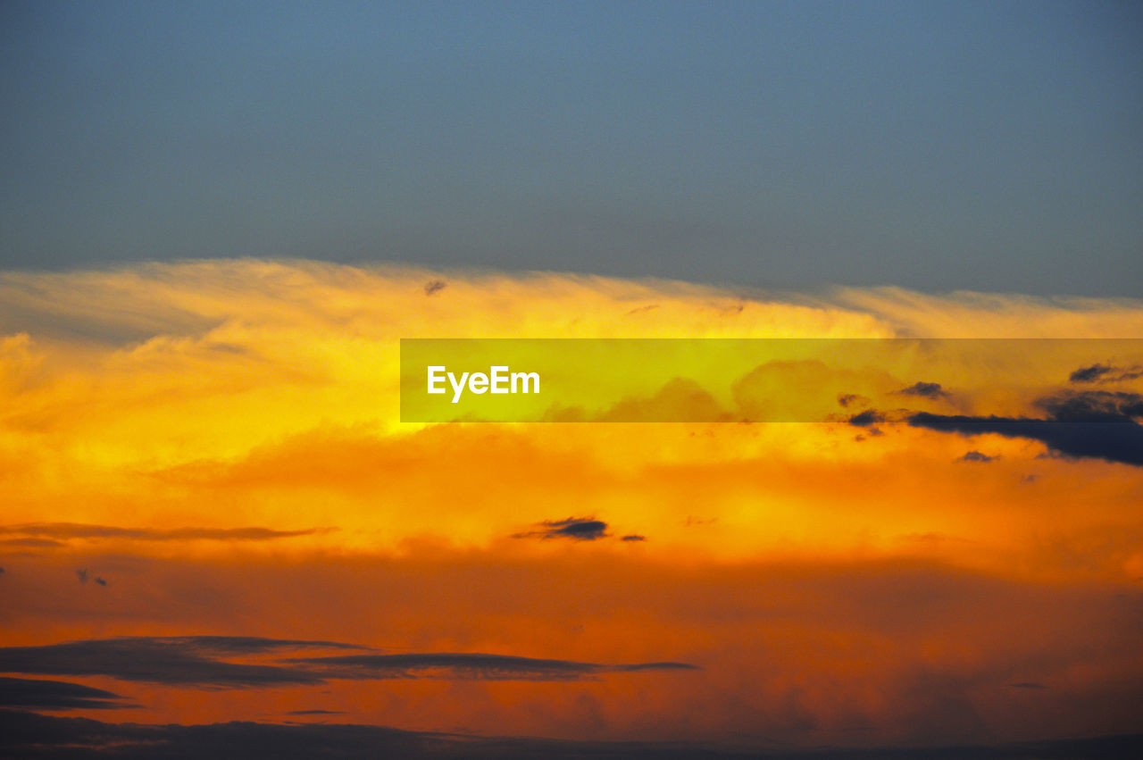 sunset, sky, cloud - sky, orange color, nature, beauty in nature, dramatic sky, no people, animals in the wild, silhouette, animal themes, scenics, bird, tranquil scene, outdoors, flying, tranquility, low angle view, one animal, yellow, day