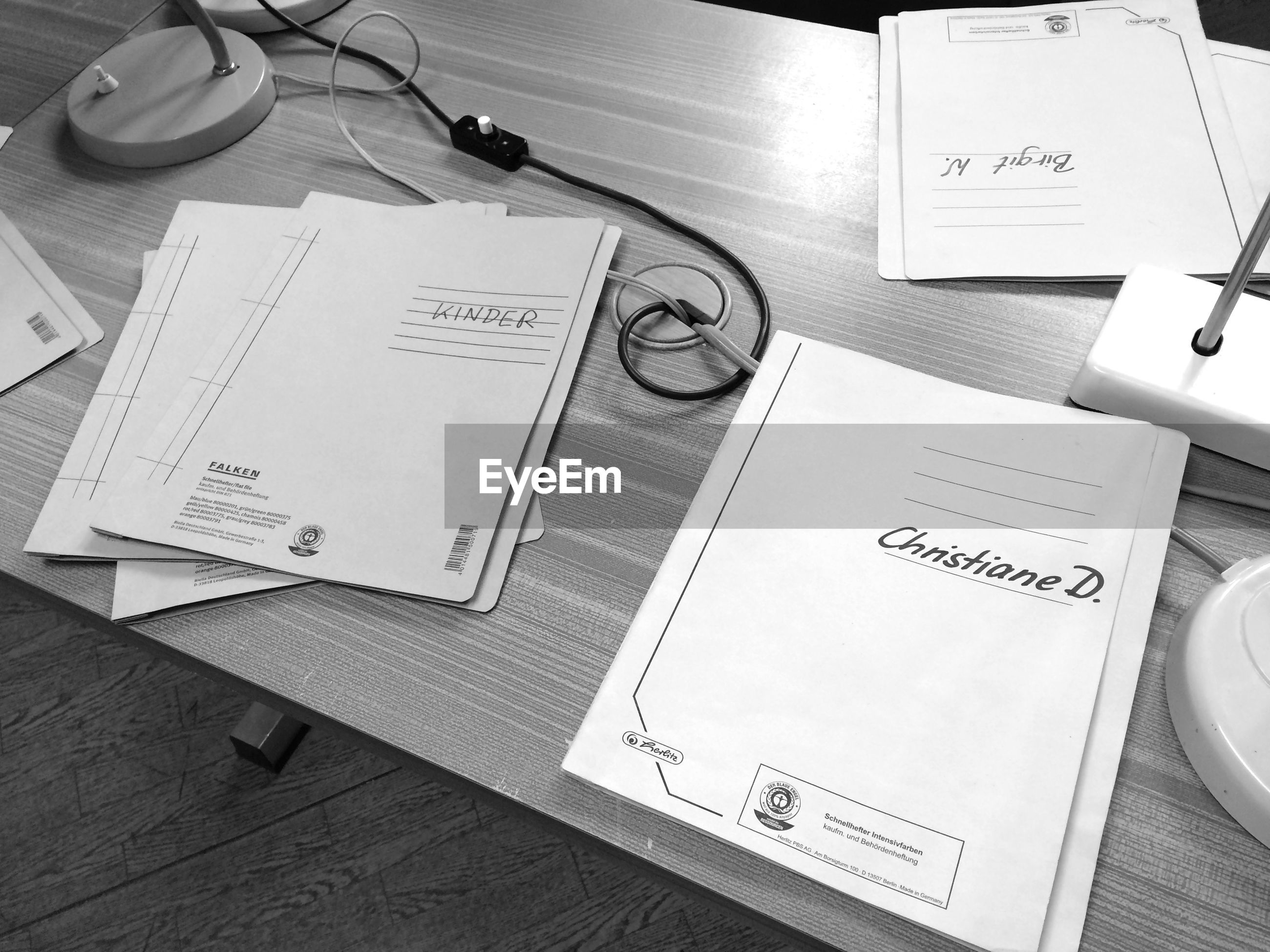 paper, desk, indoors, table, diary, communication, high angle view, no people, paper clip, reminder, lined paper, day, close-up, time, envelope