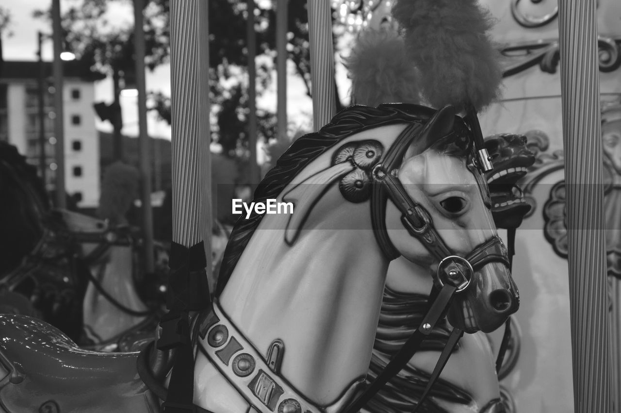 Close-Up Of Carousel