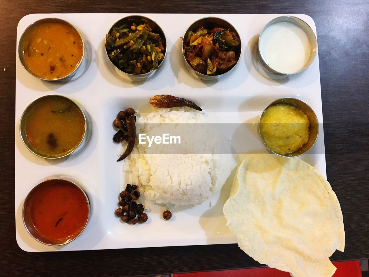 food and drink, food, ready-to-eat, freshness, plate, indoors, table, bowl, healthy eating, directly above, high angle view, no people, serving size, asian food, meal, rice - food staple, still life, wellbeing, sauce, condiment, savory sauce, tray, dip, temptation, japanese food, snack